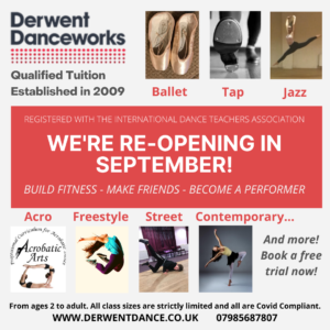 WE ARE RE-OPENING IN SEPTEMBER!!